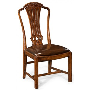 Mahogany Pierced Splat Back Chair