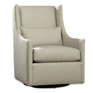 William Swivel Glider Chair
