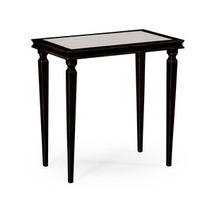 Italian Bronze Rectangular Side Table | Jonathan Charles