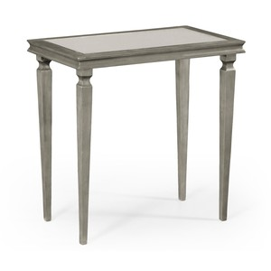 Italian Silver Rectangular Side Table | Jonathan Charles