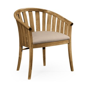 Light Oak Tub Chair | Jonathan Charles