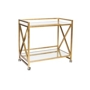Gerard Bar Cart | Worlds Away