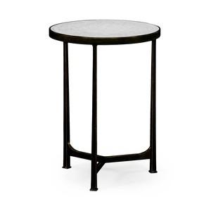 Bronze Iron Lamp Round Table