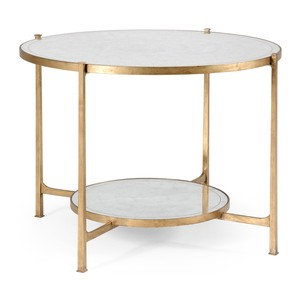 Transitional Gilded Centre Table | Jonathan Charles