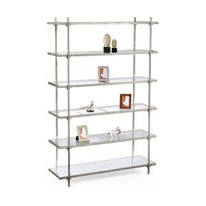 Silver Iron Six-Tier Etagere | Jonathan Charles