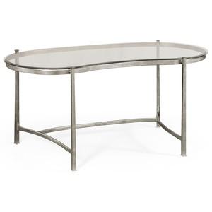Silver Kidney Desk