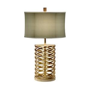 Gilded Interlaced Iron Table Lamp | Jonathan Charles
