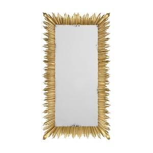 Gilded Floor Standing Rectangular Mirror | Jonathan Charles