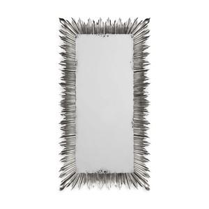 Silvered Floor Standing Rectangular Mirror   Jonathan Charles