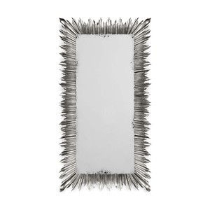 Silvered Floor Standing Rectangular Mirror | Jonathan Charles