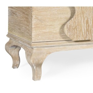 Limed Acacia Chest Of Drawers   Jonathan Charles
