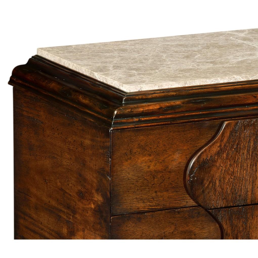 Rustic Walnut Chest Of Drawers | Jonathan Charles