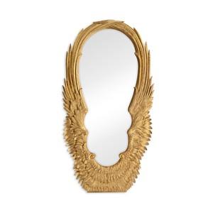 Antique Gold Leaf Floor Mirror | Jonathan Charles