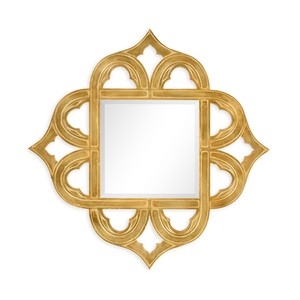 Gilded Gold-Leaf Mirror | Jonathan Charles