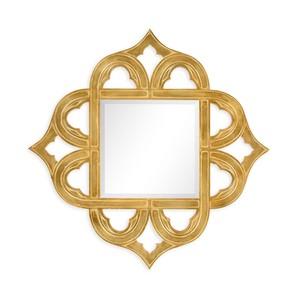 Gilded Gold-Leaf Mirror