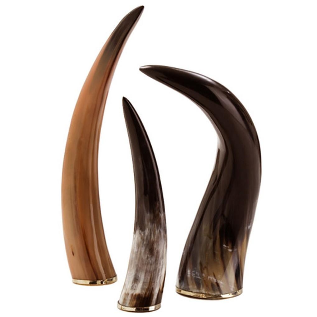 Set of Bernard Horns   Arteriors