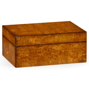 Masur Birch Rectangular Box | Jonathan Charles