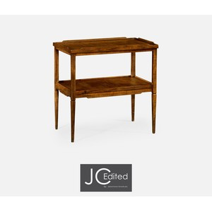 Walnut Country Style Side Table | Jonathan Charles