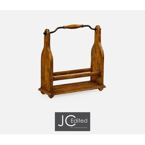 Wine Rack in Country Walnut | Jonathan Charles