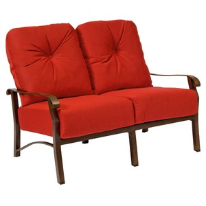 Cortland Cushion Loveseat | Woodard