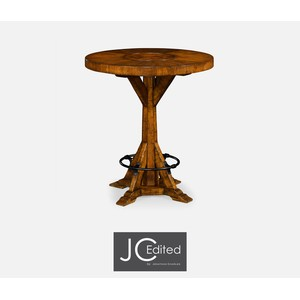 Country Walnut Bar Table | Jonathan Charles
