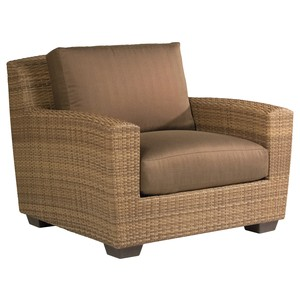 Saddleback Lounge Chair | Woodard