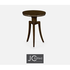 Round Wine Table in American Walnut | Jonathan Charles