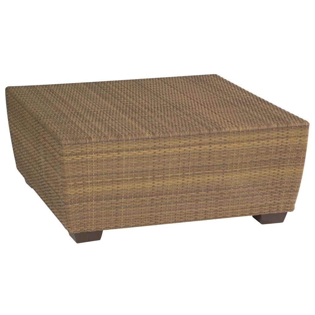 Saddleback Square Coffee Table | Woodard