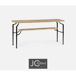 Rectangular Console Table with Iron Base | Jonathan Charles