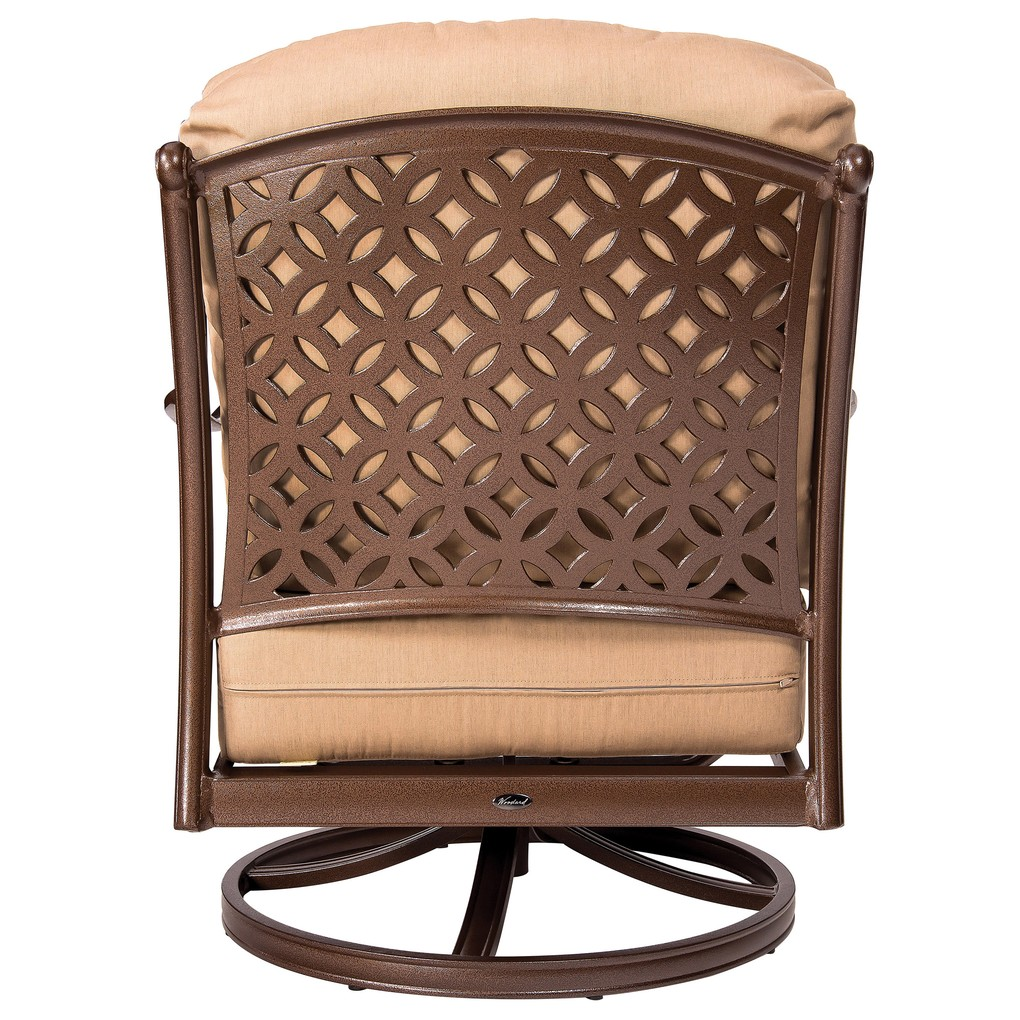 Casa Swivel Rocking Lounge Chair | Woodard