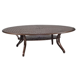 Casa Oval Dining Table | Woodard