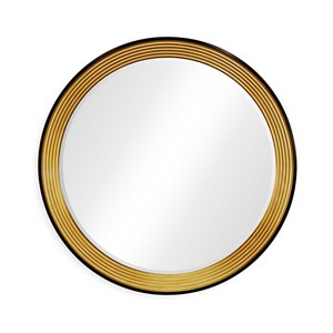 Contemporary Circular Recessed Mirror | Jonathan Charles