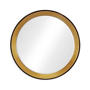 Contemporary Circular Recessed Mirror | Jonathan Charles