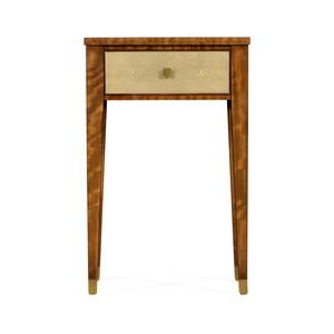 Ivory Shagreen Rectangular Lamp Table | Jonathan Charles