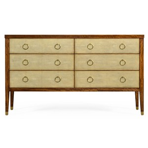Ivory Shagreen Double Chest of Drawers | Jonathan Charles