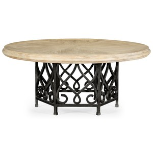 Limed Wood Dining Table