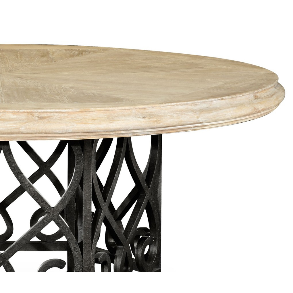 Limed Wood Dining Table | Jonathan Charles