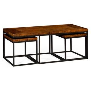 Rectangular Coffee Table in Rustic Walnut | Jonathan Charles