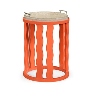 Persimmon Side Table with Reversible Top | Jonathan Charles