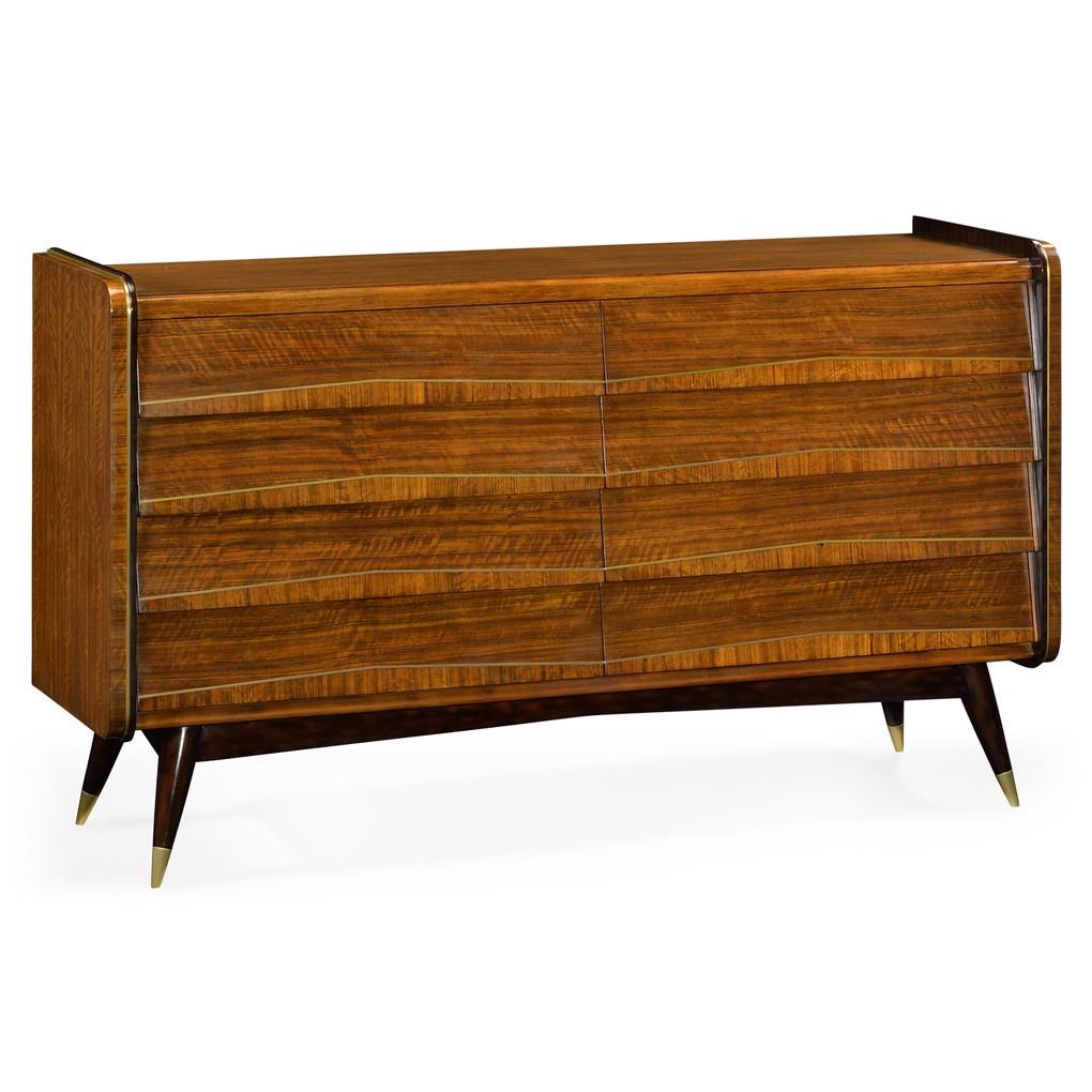Mid Century 8 Drawer Dresser | Jonathan Charles