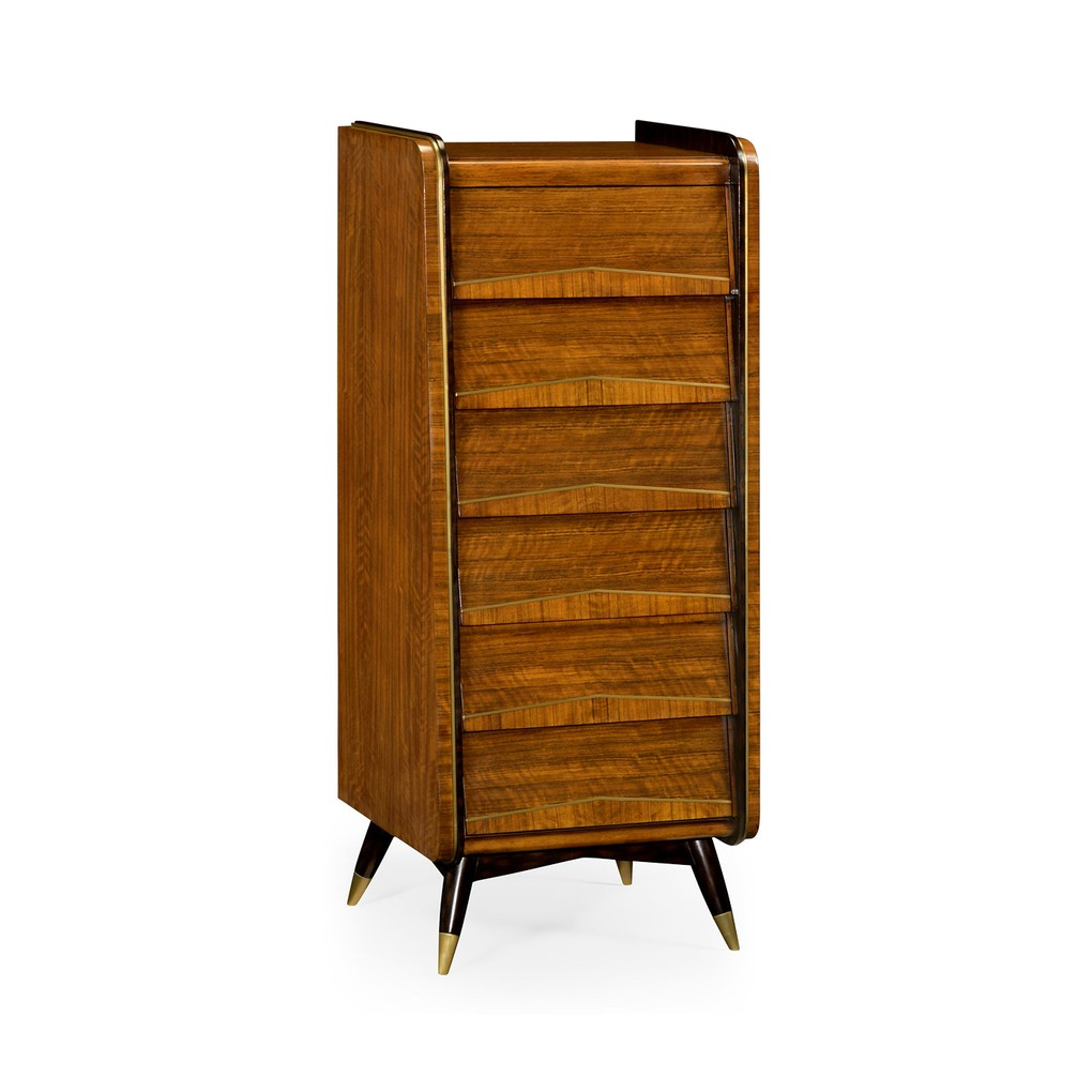Mid-Century Tall Chest of Drawers | Jonathan Charles