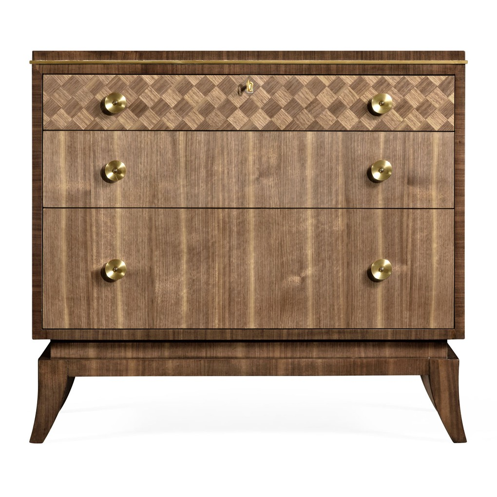 Mid-Century Bedside Chest of Drawers | Jonathan Charles