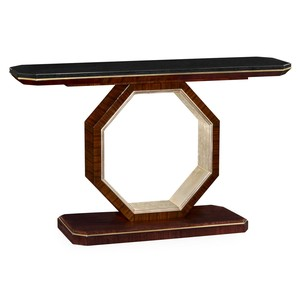 Console Table with Black Marble Top