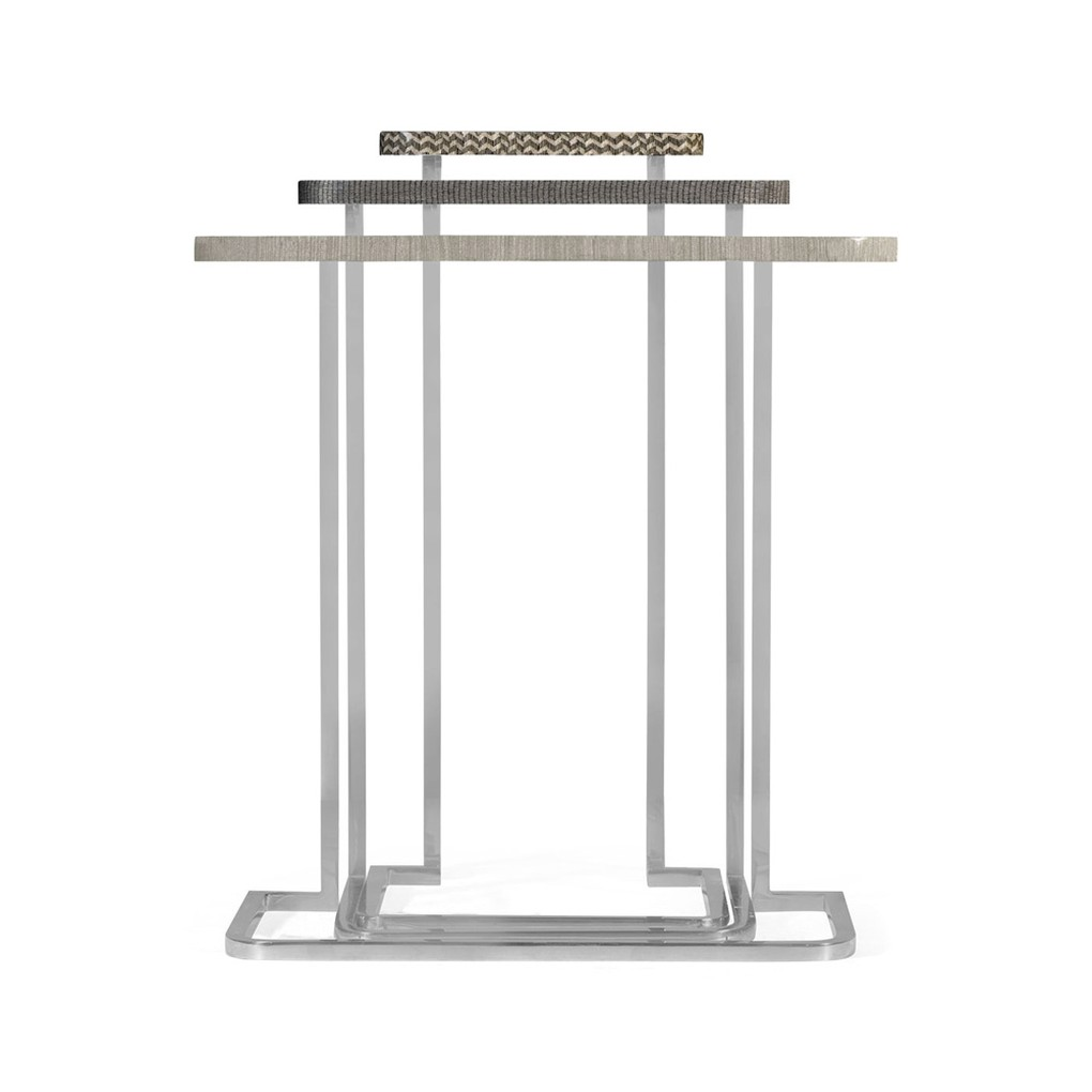 Grey Italian Layer Nesting Tables | Jonathan Charles