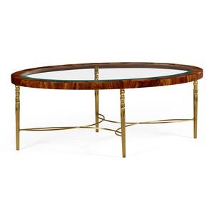 Oval Coffee Table | Jonathan Charles