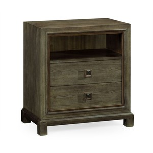 Nightstand in Light Grey Chestnut | Jonathan Charles