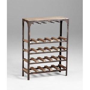 Gallatin Wine Rack | Cyan Design