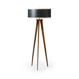 Floor Lamp w/ Triangular Base