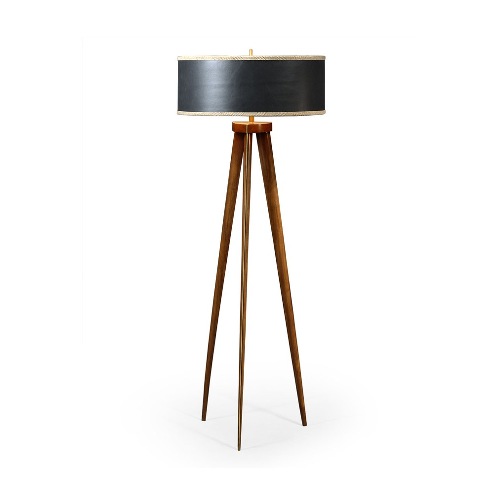 Floor Lamp with Triangular Base | Jonathan Charles