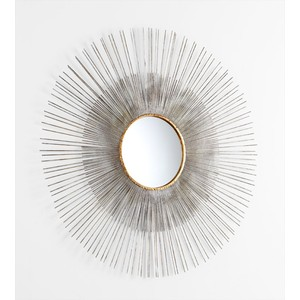 Large Pixley Mirror | Cyan Design